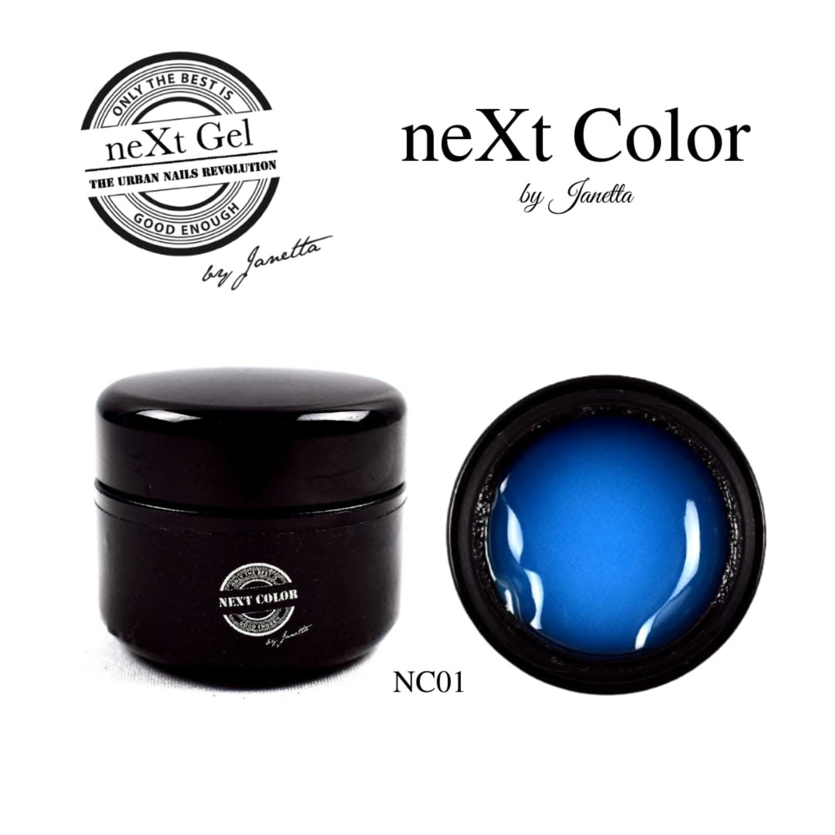 Urban Nails NeXt Color NC01 Blauw