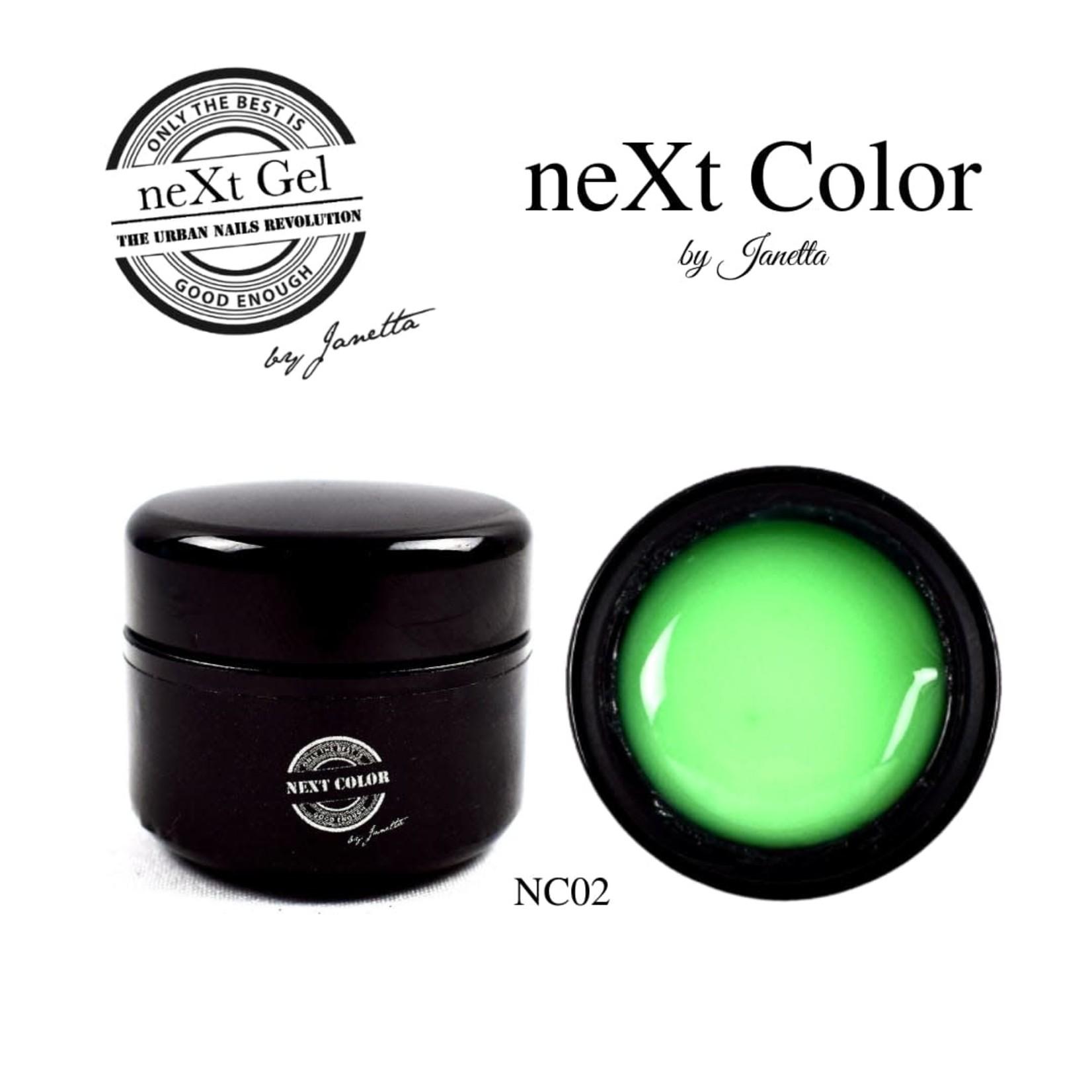 Urban Nails NeXt Color NC02 Groen