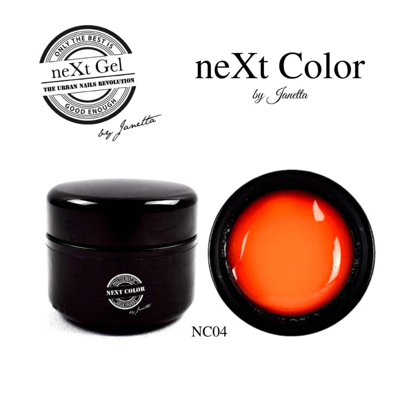 Urban Nails NeXt Color NC04 Oranje