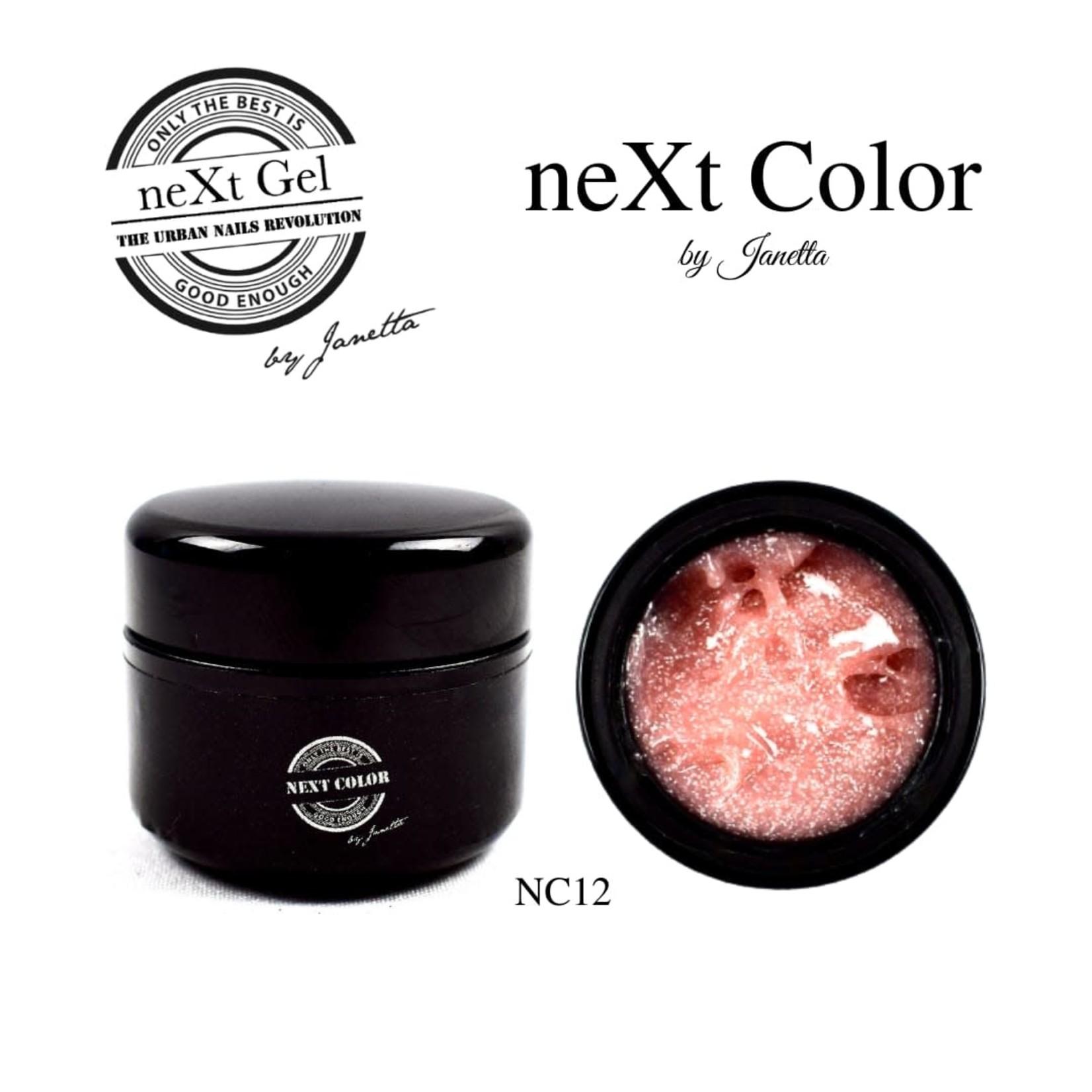 Urban Nails NeXt Color NC12 Nude Glitter