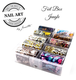 Urban Nails Foil box Jungle