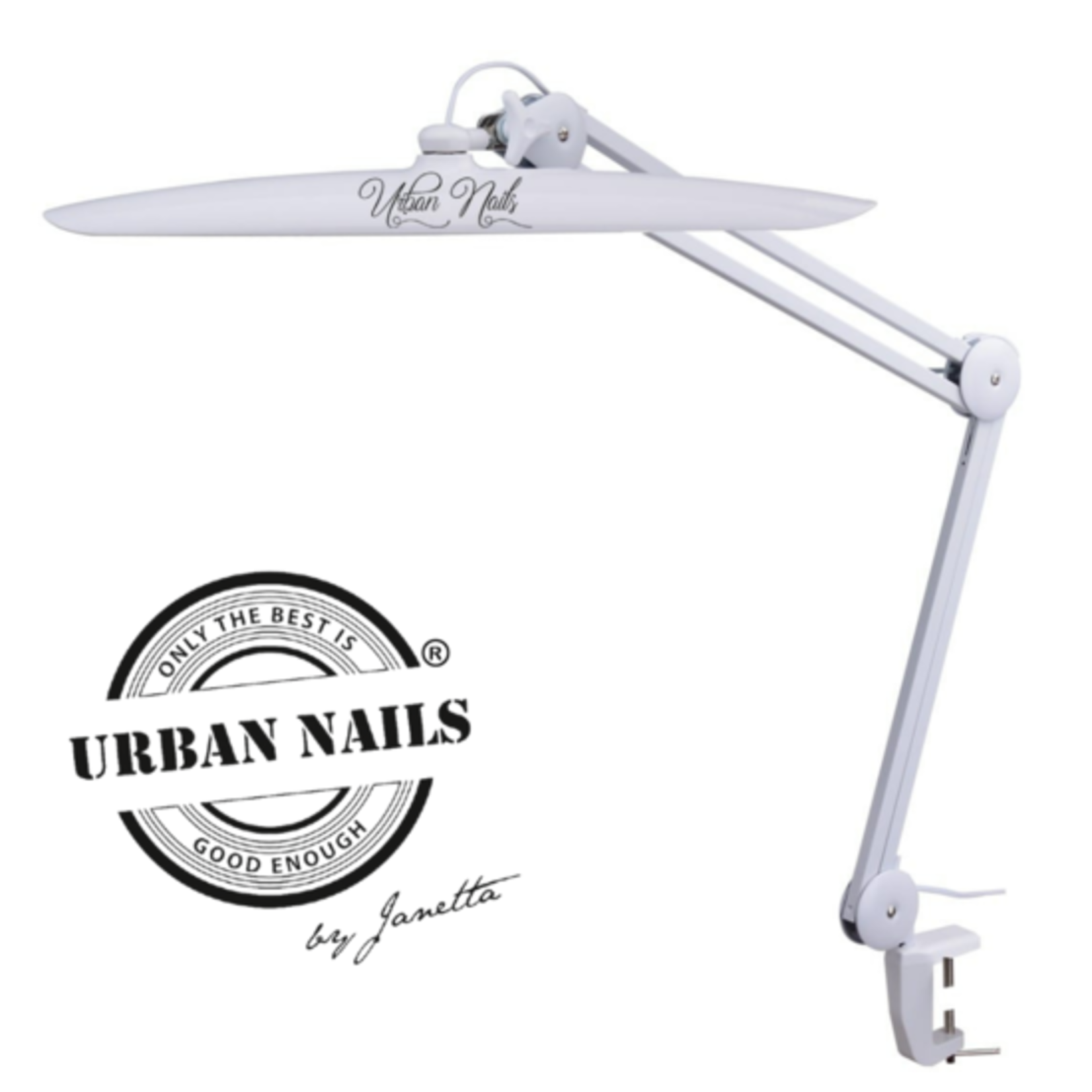 Urban Nails Led Tafel/Bureau/Daglicht Lamp Wit