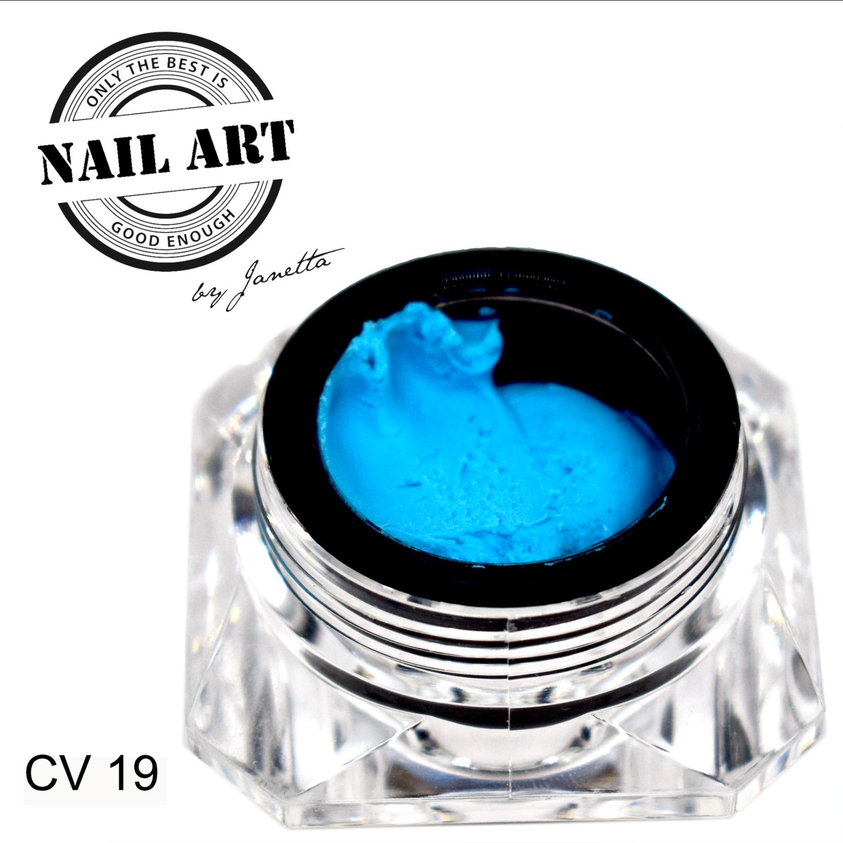 Urban Nails Carving Gel 19 Fel Blauw