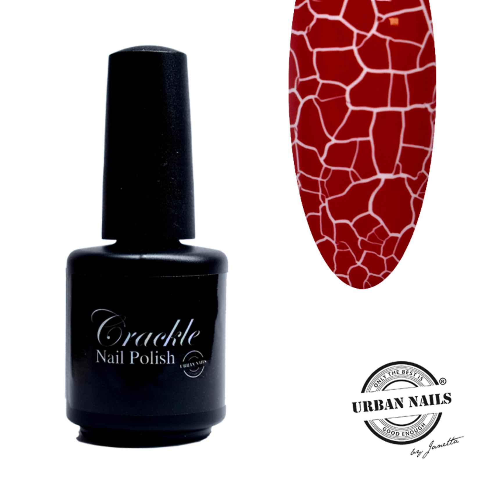 Urban Nails Crackle Nail Polish 3 Rood