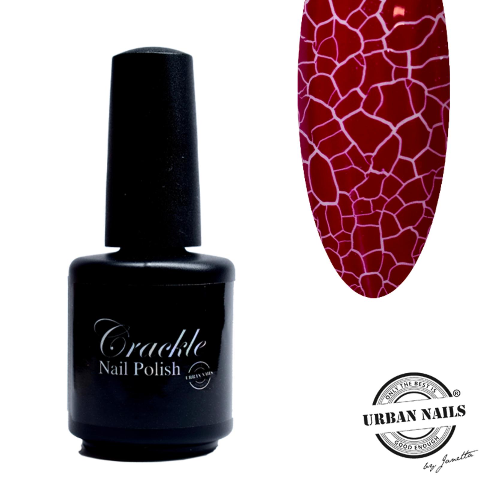 Urban Nails Crackle Nail Polish 5 Magenta