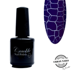 Urban Nails Crackle Nail Polish 6 Donkerblauw