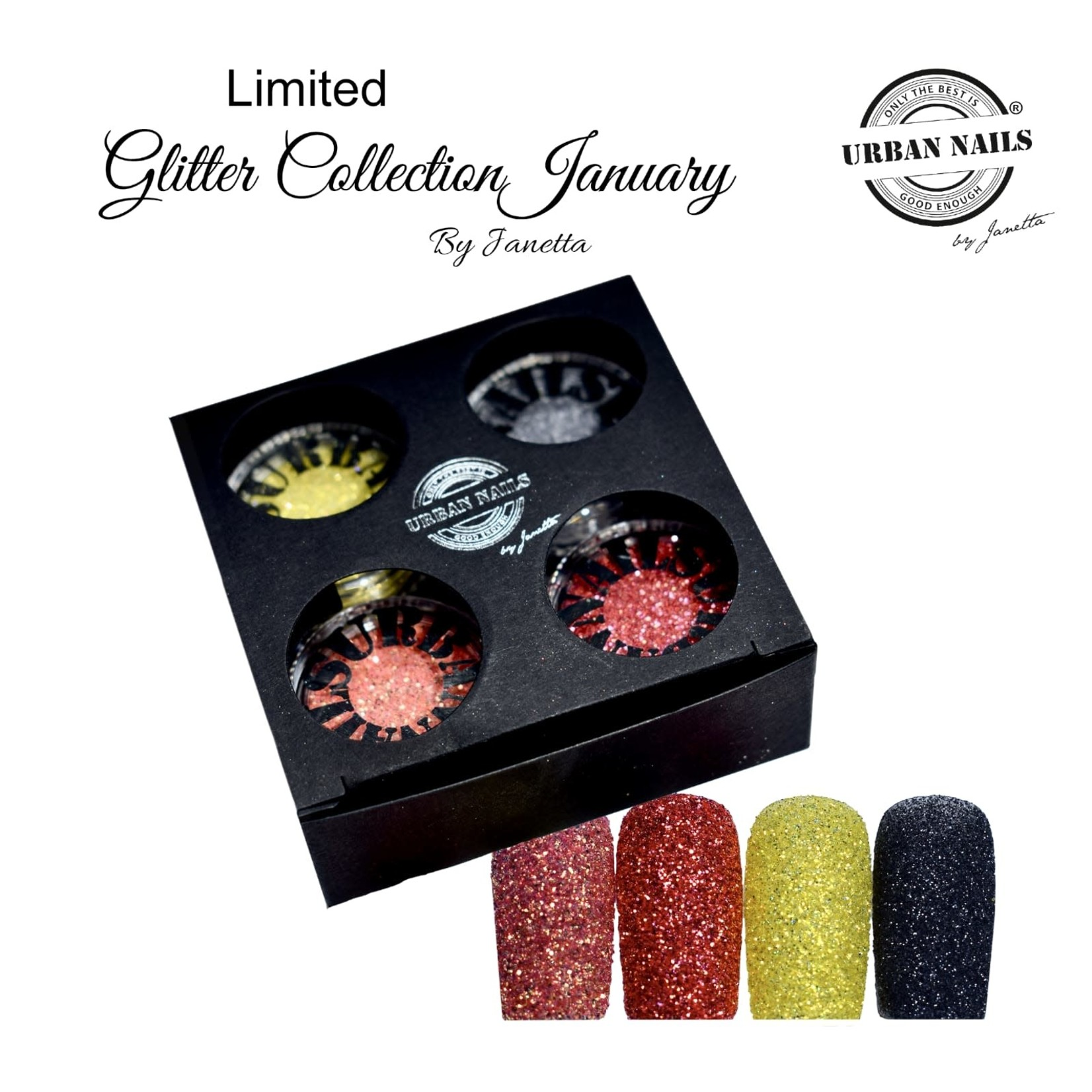 Urban Nails Limited Glitter Collection January