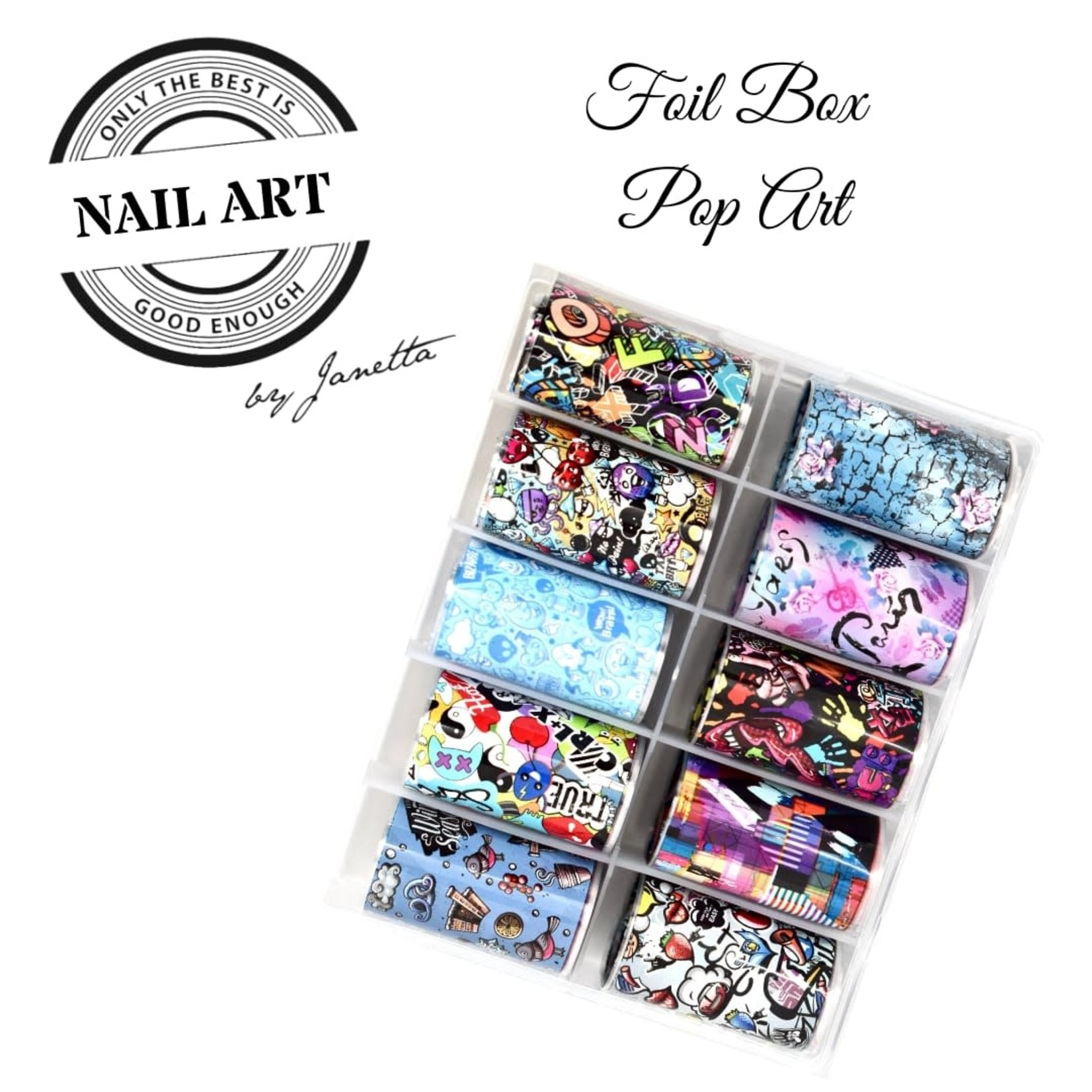 Urban Nails Foil Box Pop Art