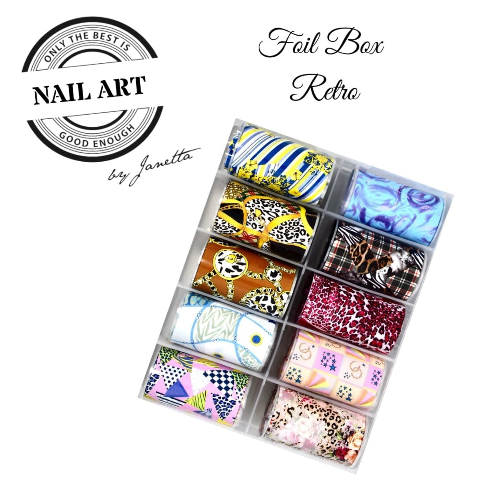 Urban Nails Foil Box Retro