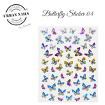 Urban Nails Butterfly Sticker 04
