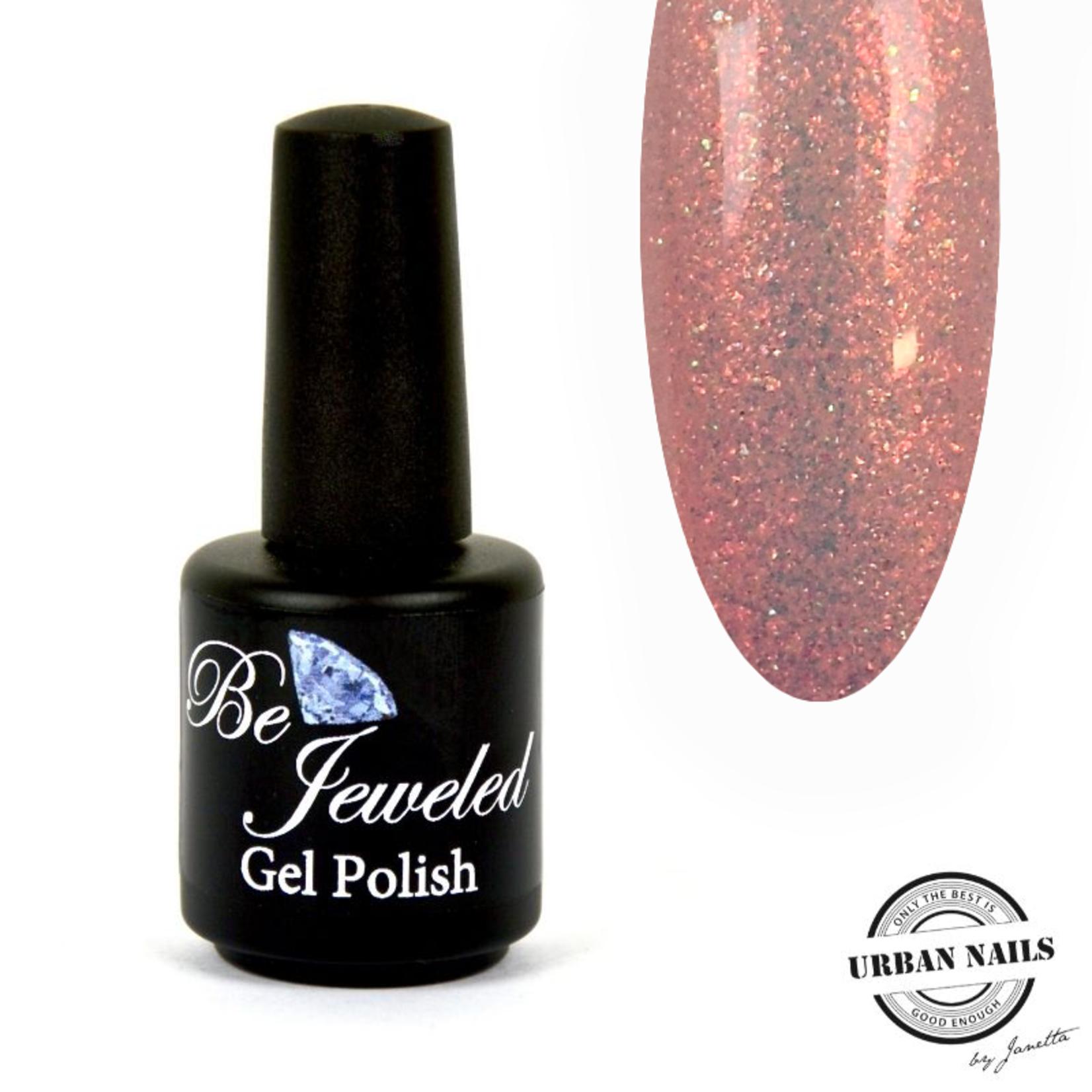 Urban Nails Be Jeweled Enchanted Gelpolish 01 Rood/Bruin