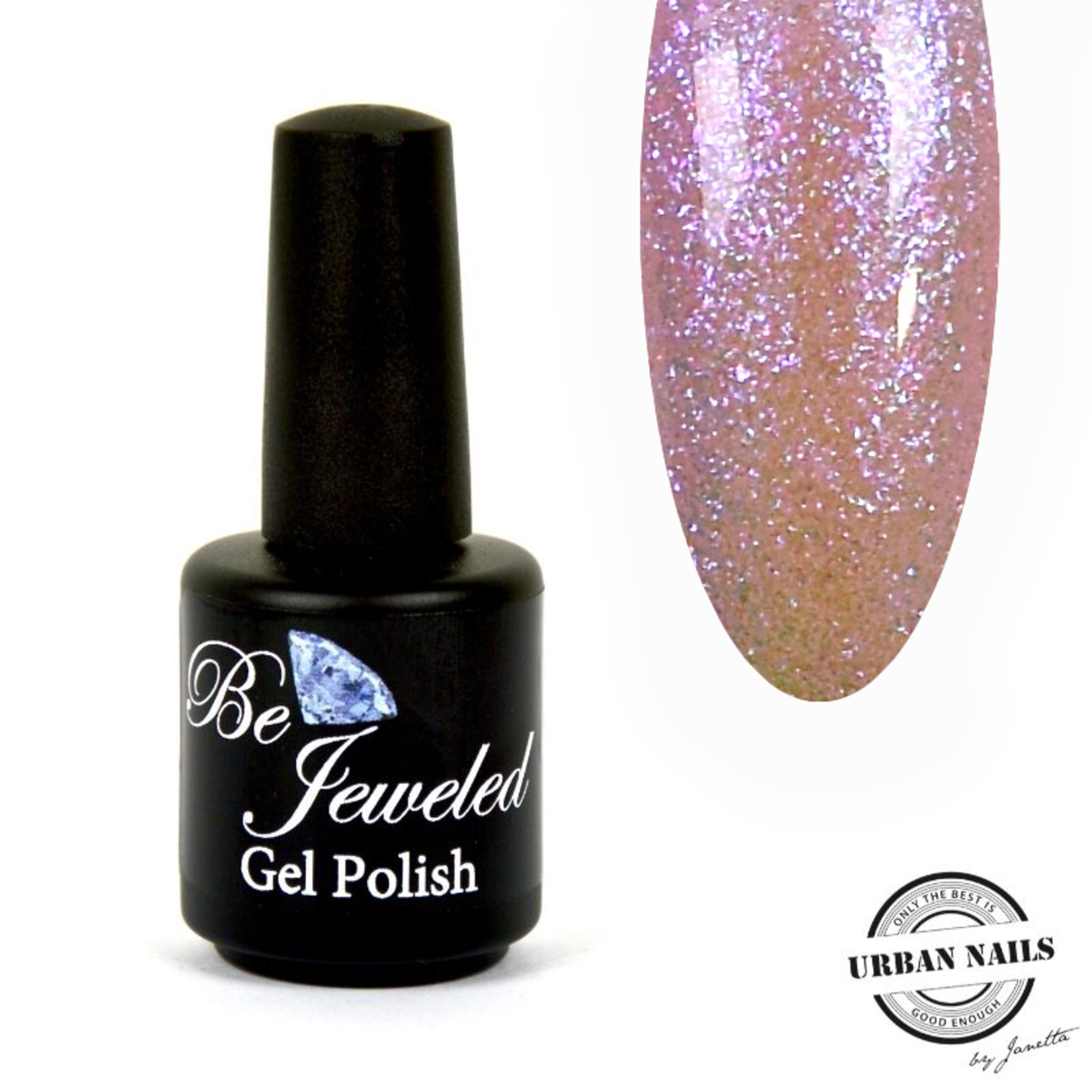Urban Nails Be Jeweled Enchanted Gelpolish 06 Roze/Geel