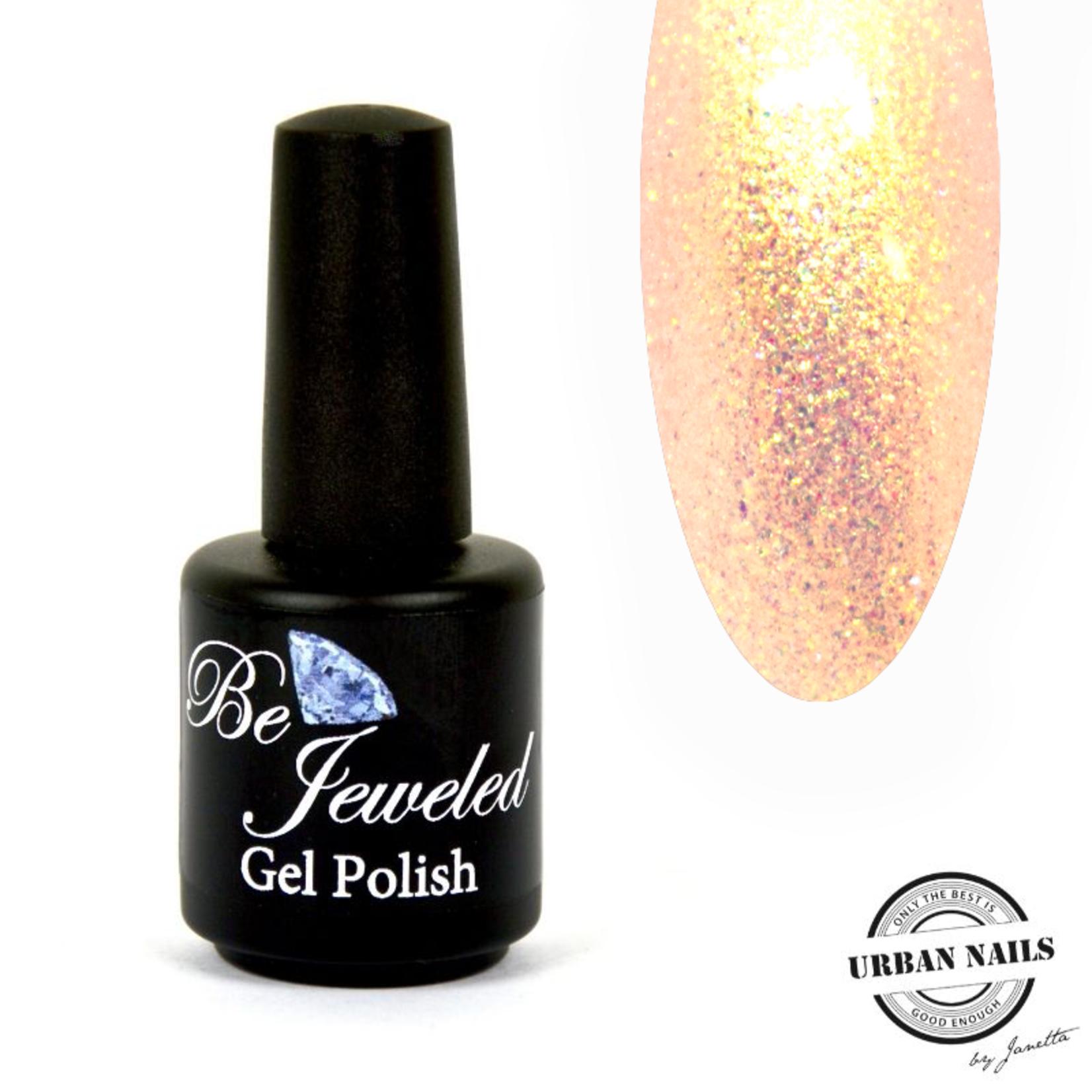 Urban Nails Be Jeweled Enchanted Gelpolish 03 Oranje/Goud