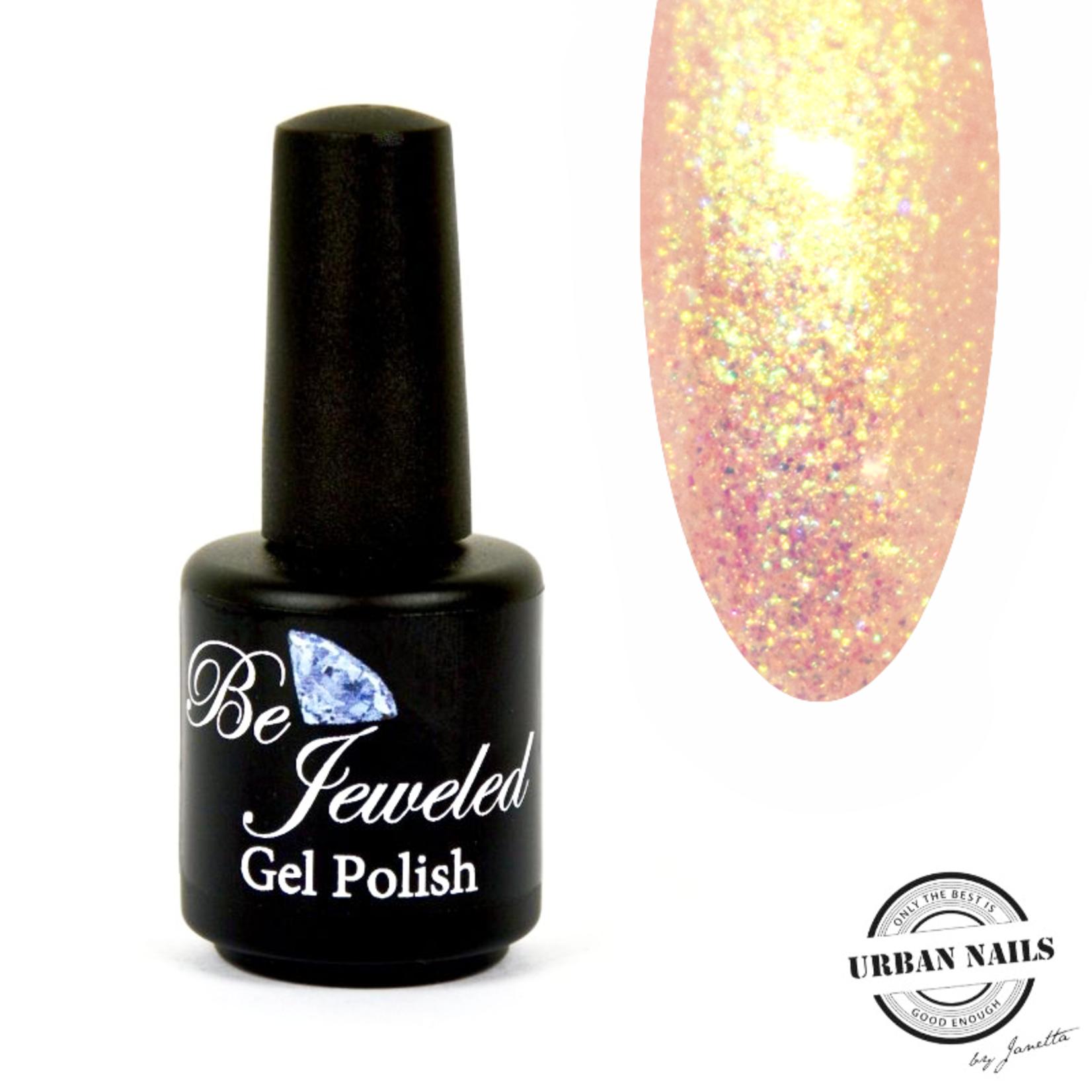 Urban Nails Be Jeweled Enchanted Gelpolish 07 Roze/Goud