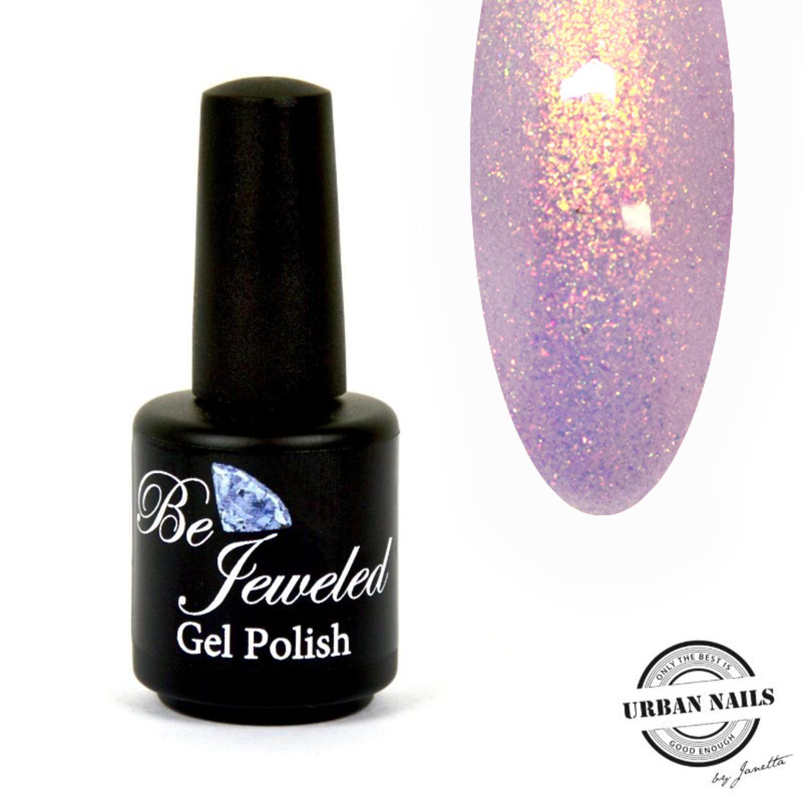 Urban Nails Be Jeweled Enchanted Gelpolish 09 Roze/Paars