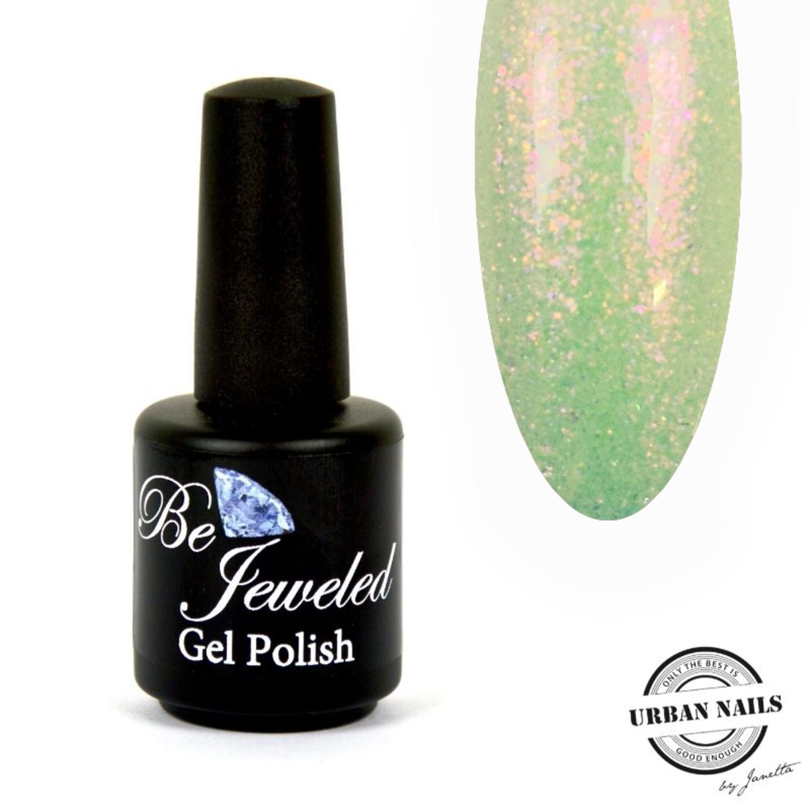 Urban Nails Be Jeweled Enchanted Gelpolish 08 Geel/Groen