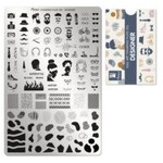 Moyra Moyra Stamping plate 103 - Designer