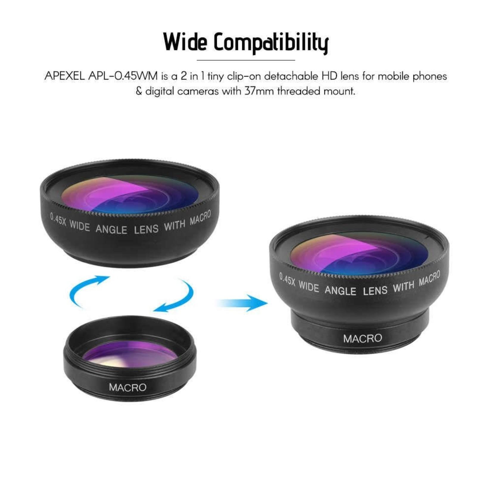 Urban Nails Macro Lens Apexel APL-0.45WM