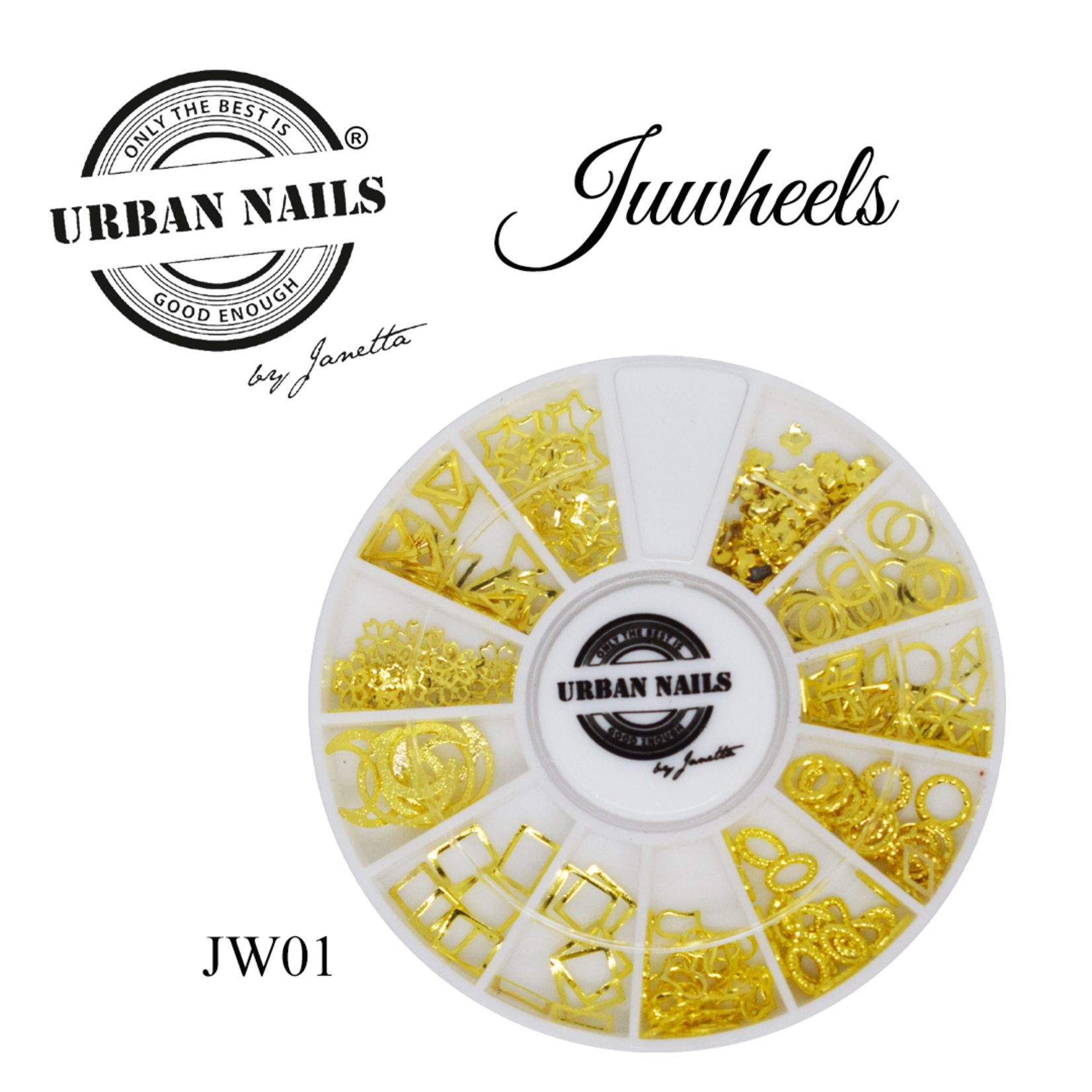 Urban Nails JuWheels JW01 Goud