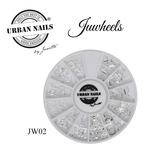 Urban Nails JuWheels JW02 Zilver