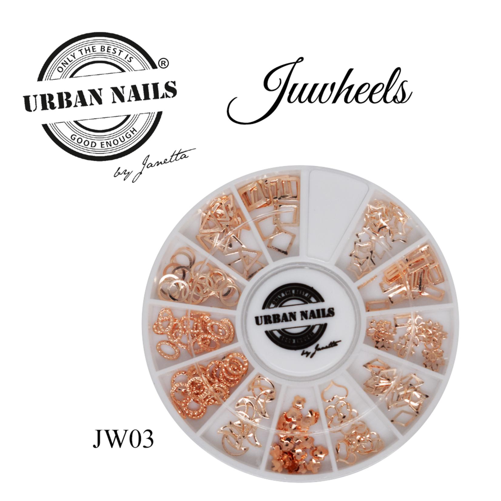 Urban Nails JuWheels JW03 Rosé Goud