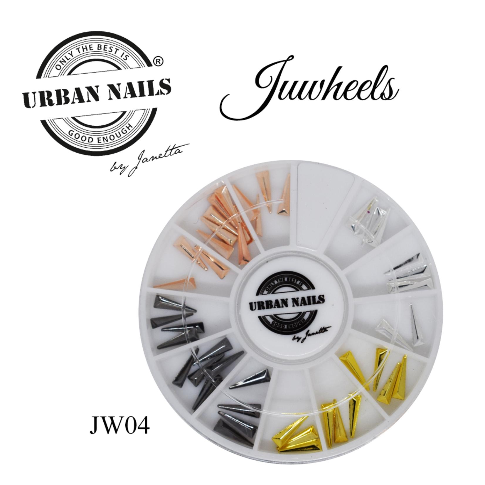 Urban Nails JuWheels JW04 Mix