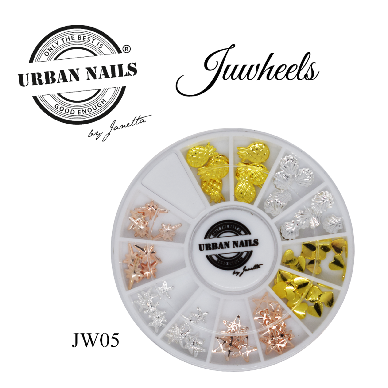 Urban Nails JuWheels JW05 Mix