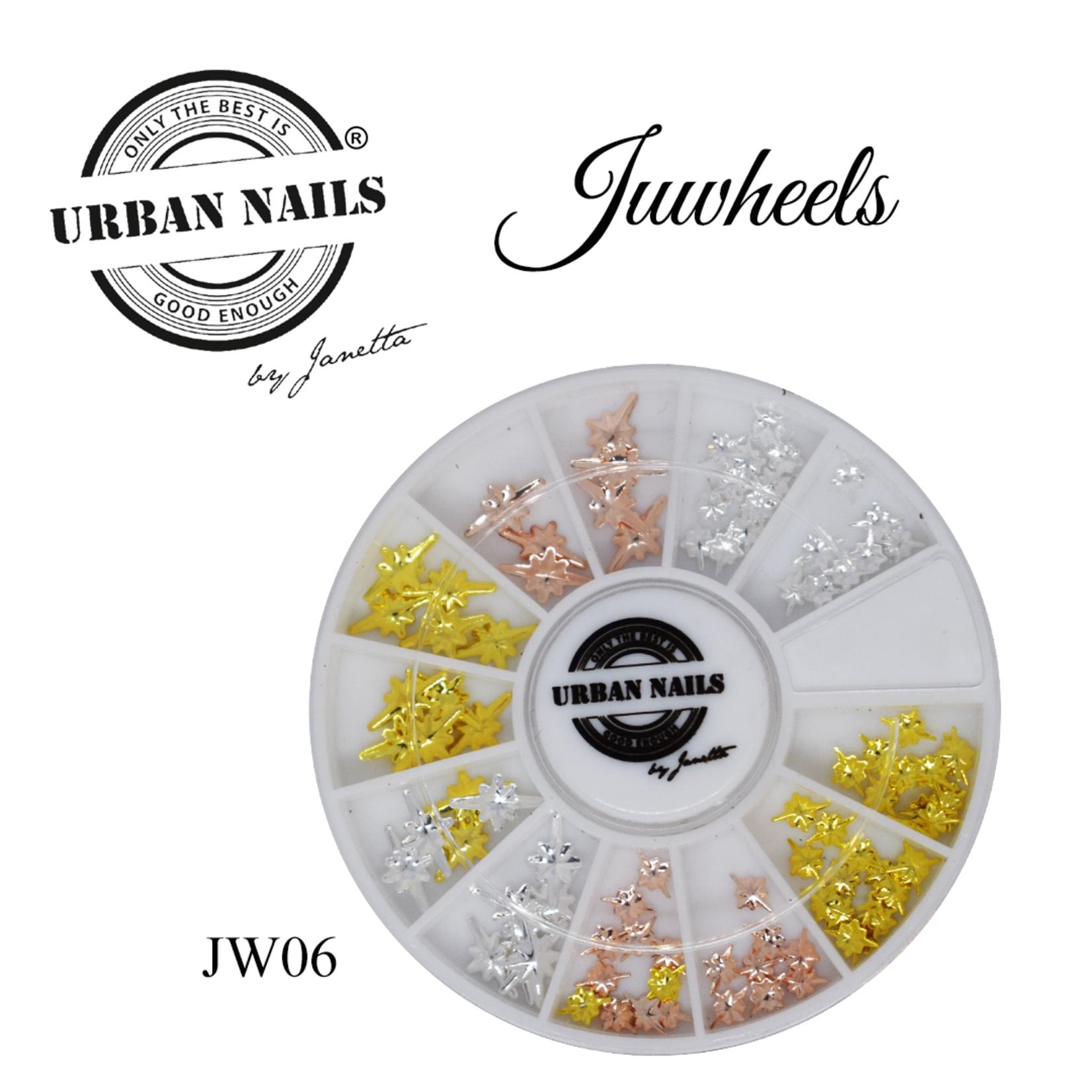 Urban Nails JuWheels JW06 Mix