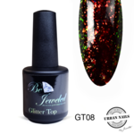 Urban Nails Glitter top gel 8