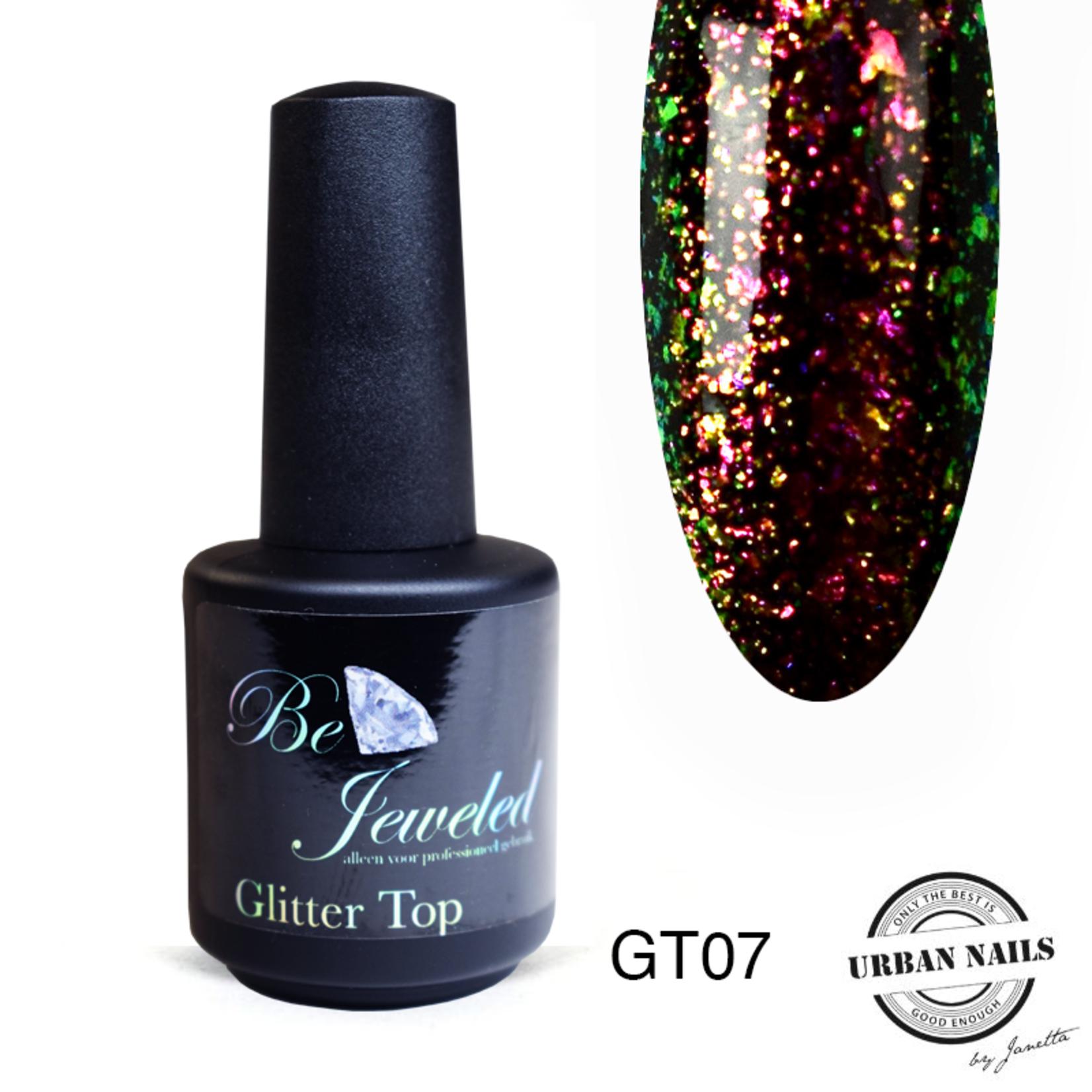 Urban Nails Glitter top gel 7
