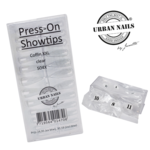 Urban Nails Press-on/Showtips Coffin Clear 504x