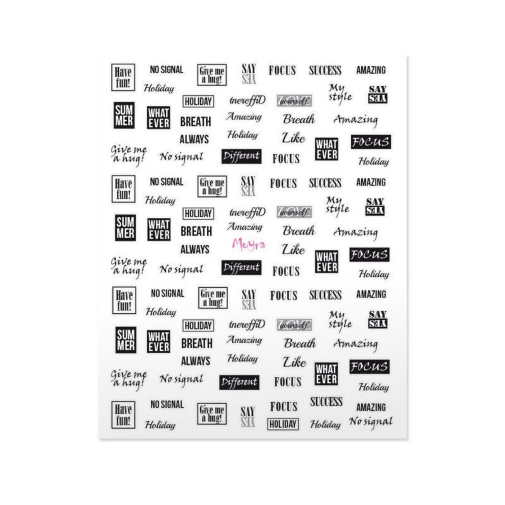 Moyra Moyra Nail Stickers 10