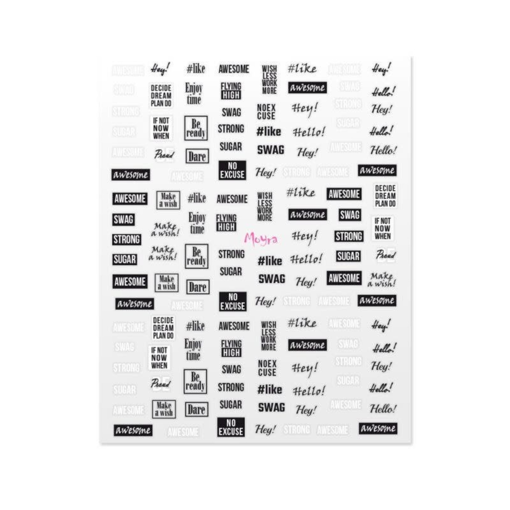 Moyra Moyra Nail Stickers 11