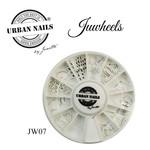 Urban Nails JuWheels JW07 Mix Silver