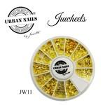Urban Nails JuWheels JW11  Mix Gold