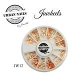 Urban Nails JuWheels JW12  Mix Rosé gold