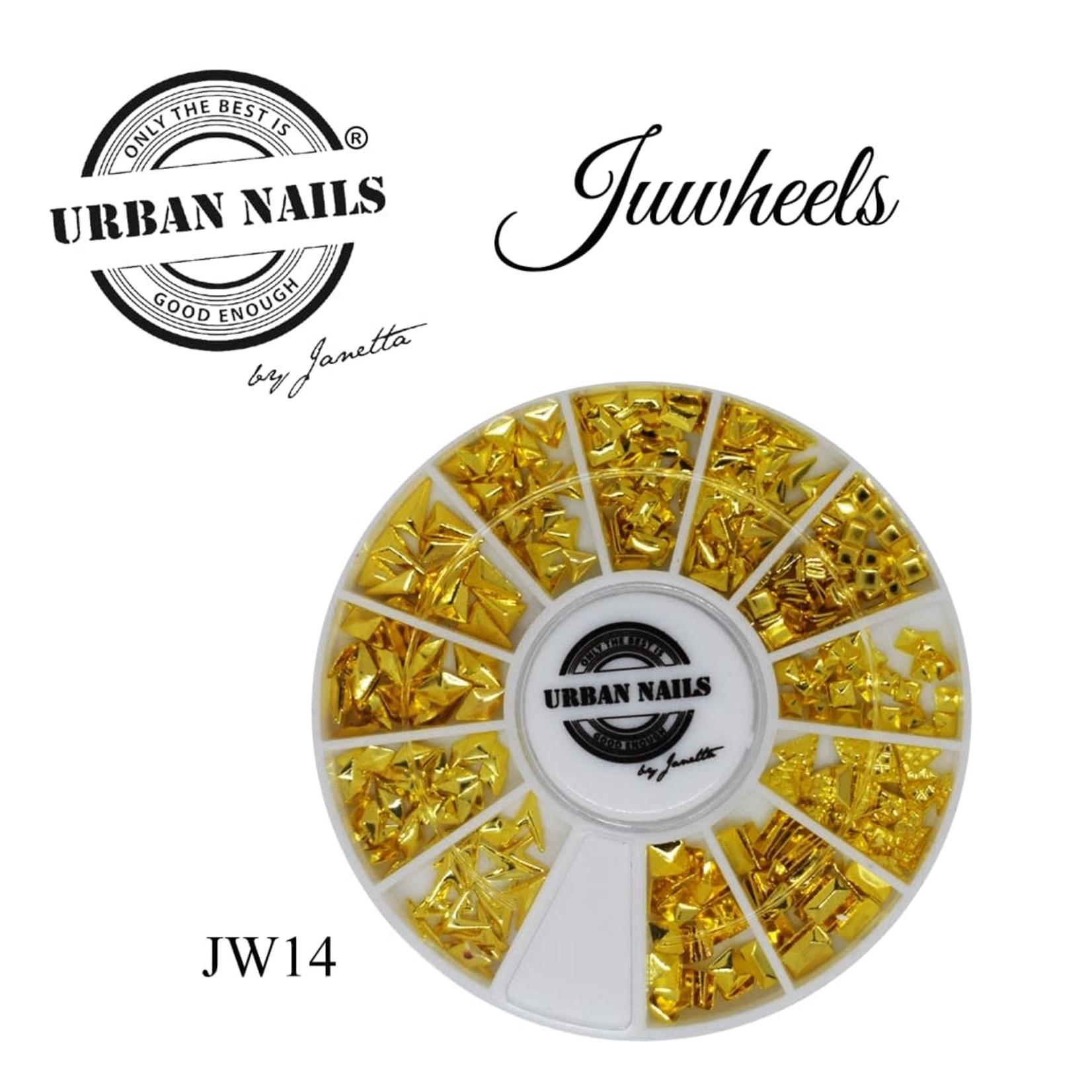 Urban Nails JuWheels JW14 Gold