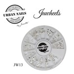 Urban Nails JuWheels JW13 Zilver