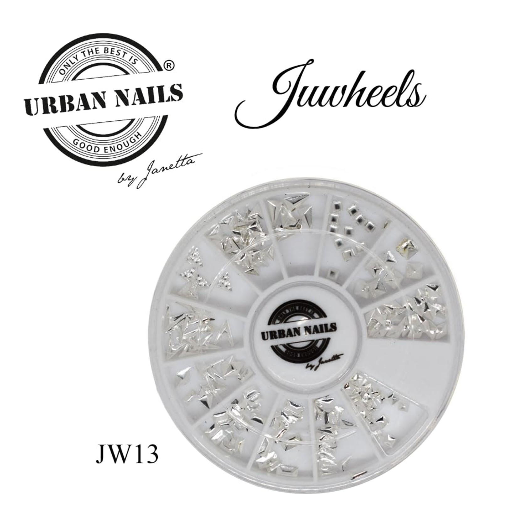 Urban Nails JuWheels JW13 Zilver