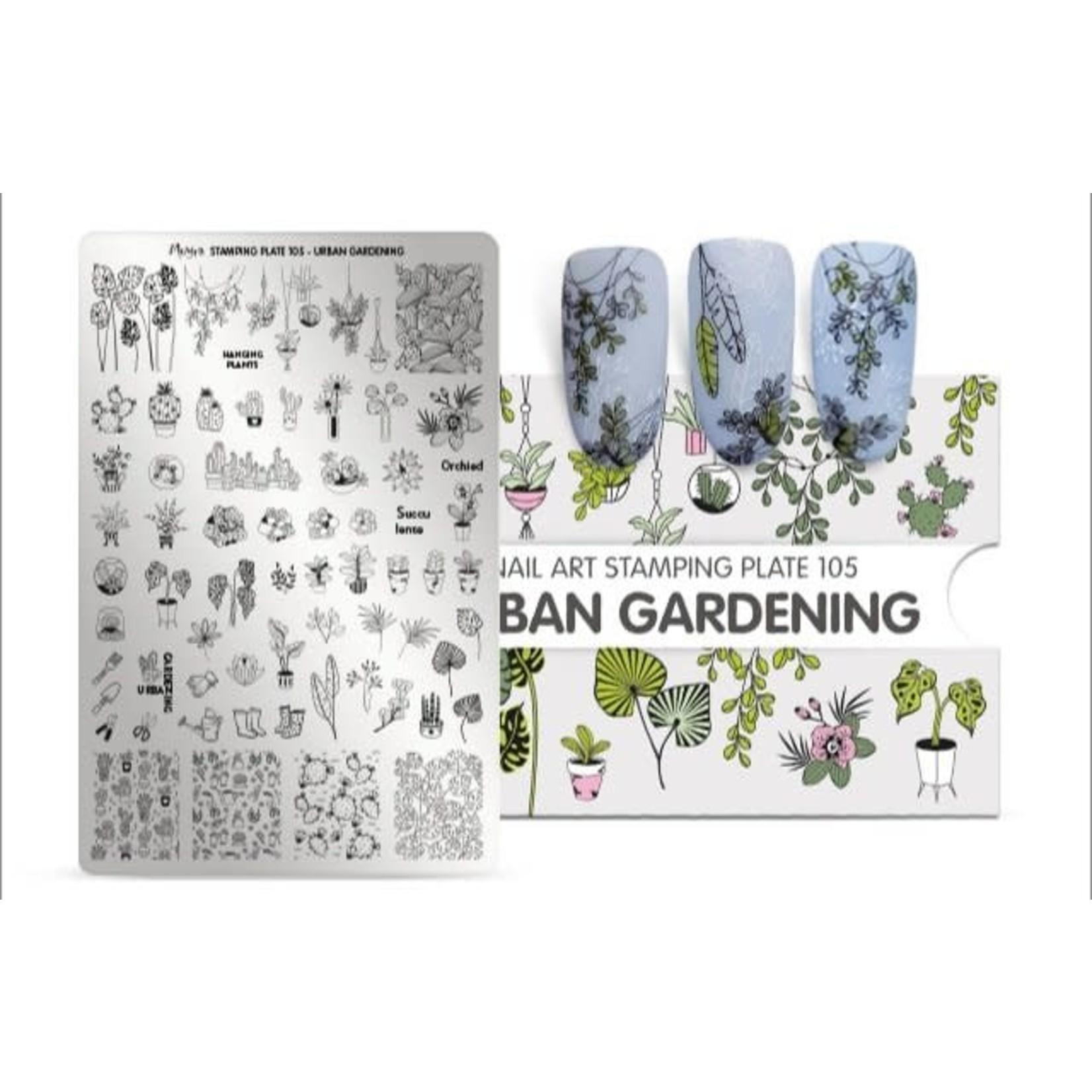 Moyra Moyra Stamping plate 105 - Urban Gardening