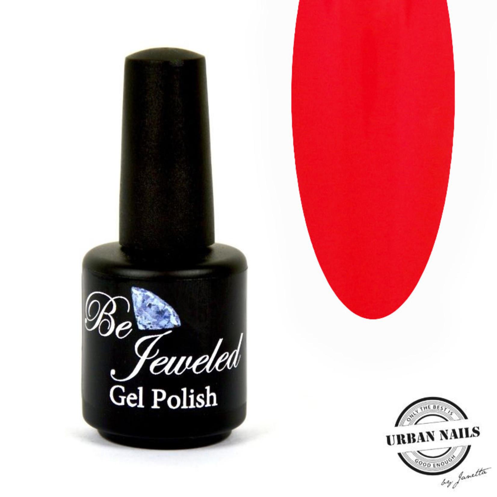 Urban Nails Be Jeweled Gelpolish 206 Oranje/Rood