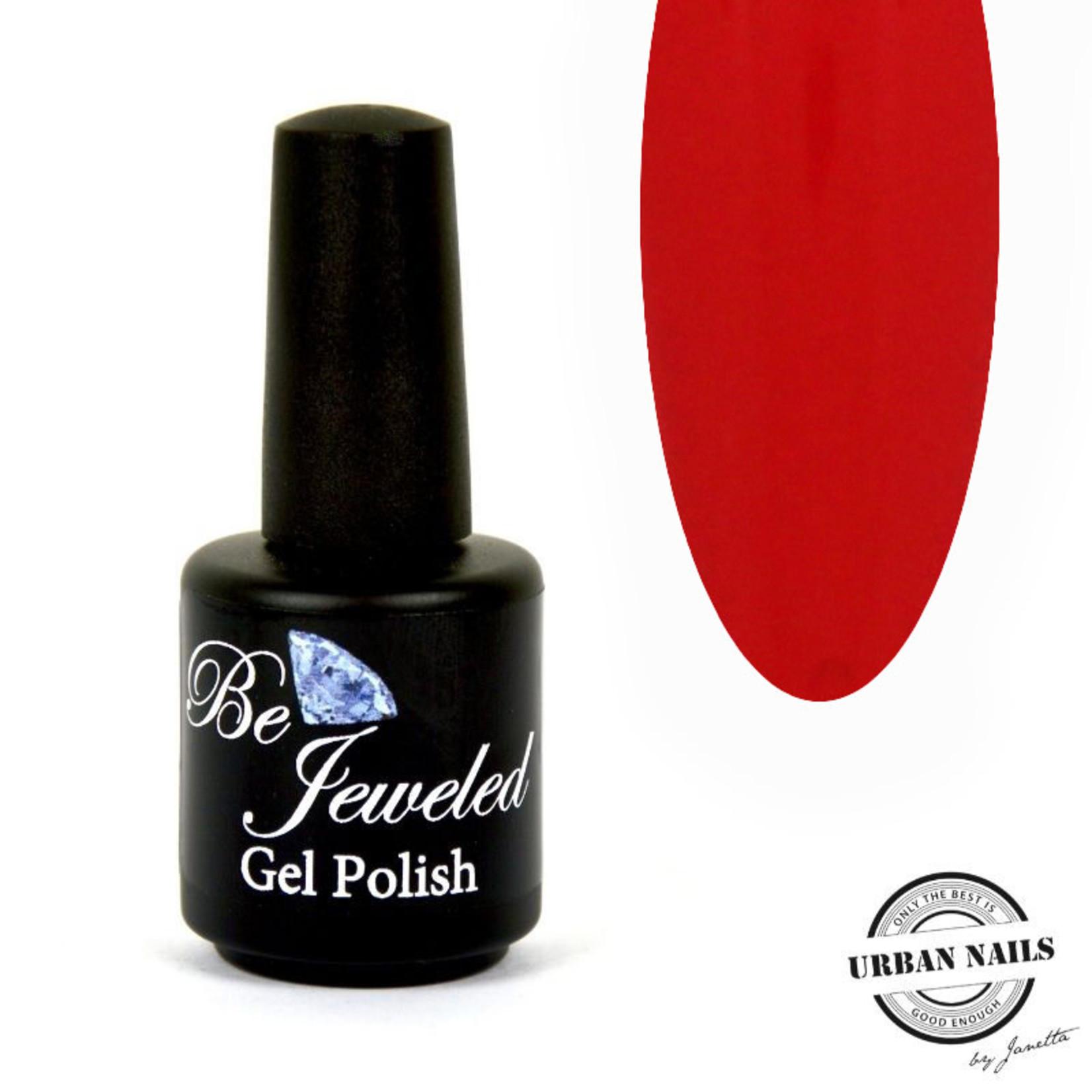 Urban Nails Be Jeweled Gelpolish 208 Vurig rood