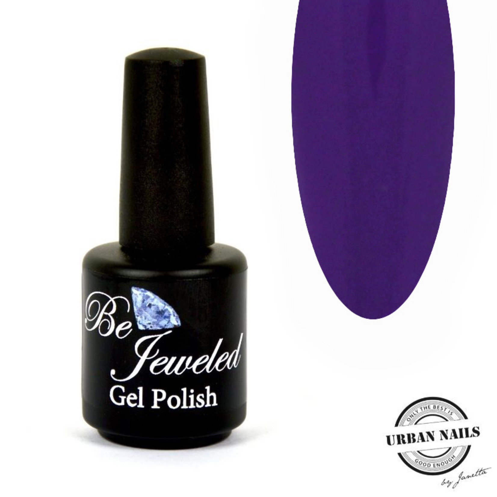 Urban Nails Be Jeweled Gelpolish 210 Donker Paars