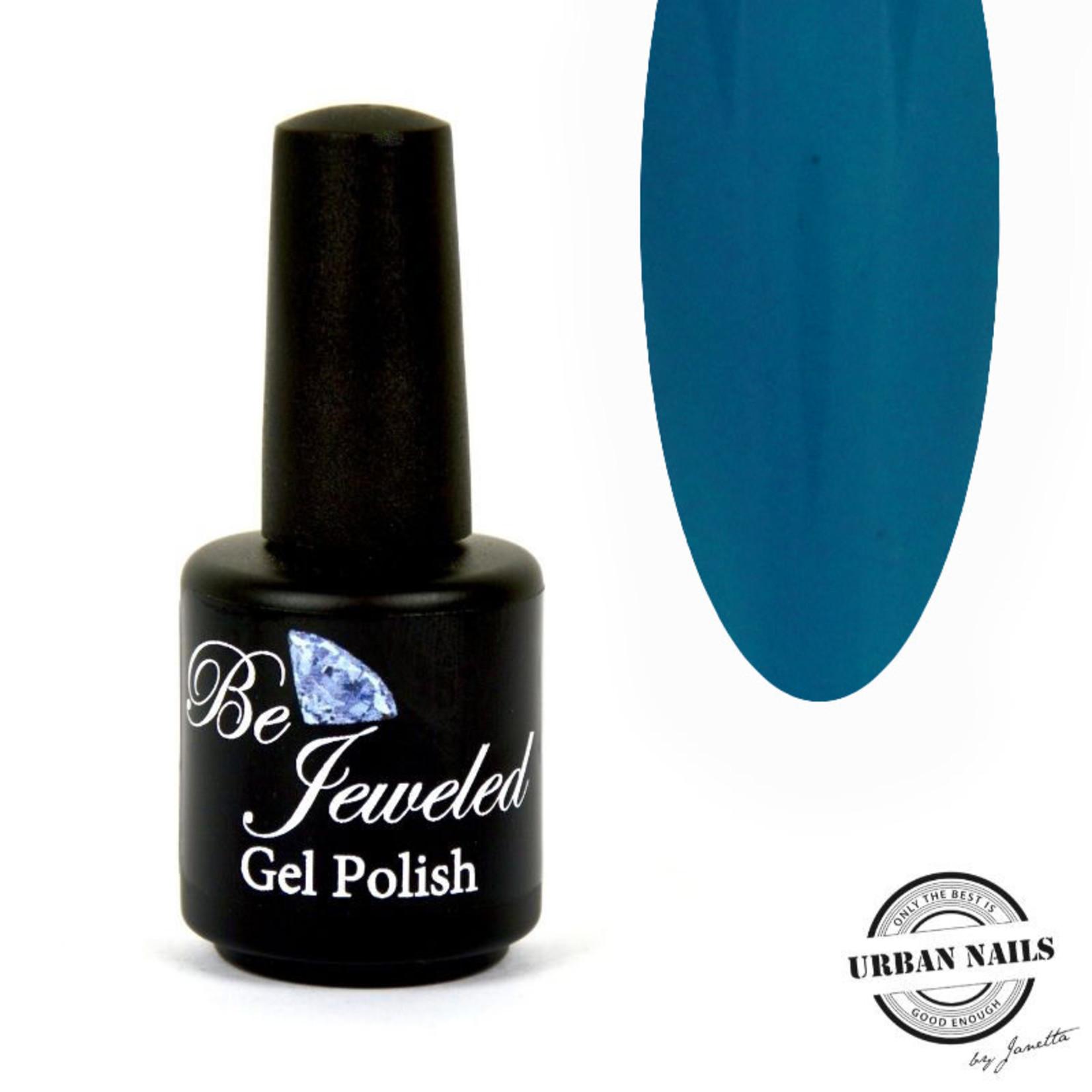 Urban Nails Be Jeweled Gelpolish 214 Blauw/grijs