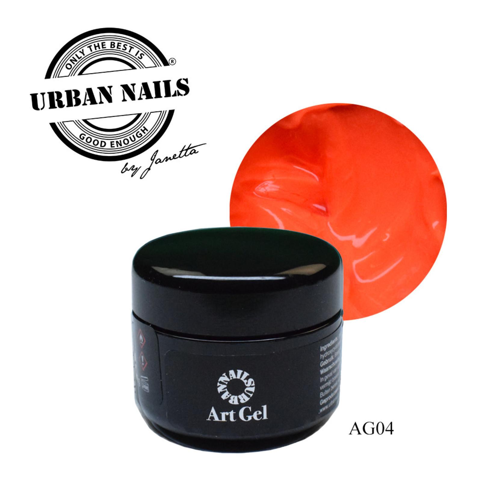Urban Nails Art Gel 4 Koraal