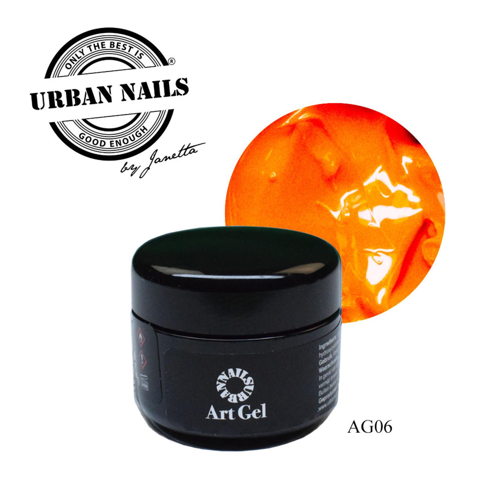 Urban Nails Art Gel 6 Oranje