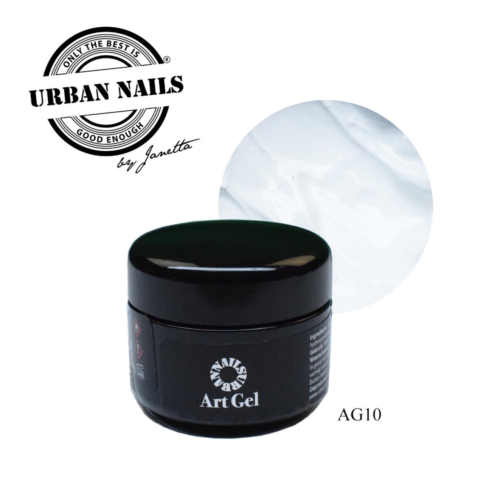 Urban Nails Art Gel 10 Wit