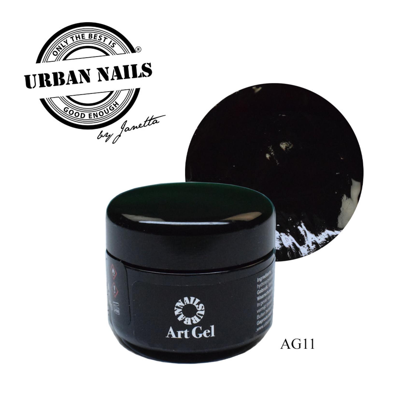 Urban Nails Art Gel 11 Zwart