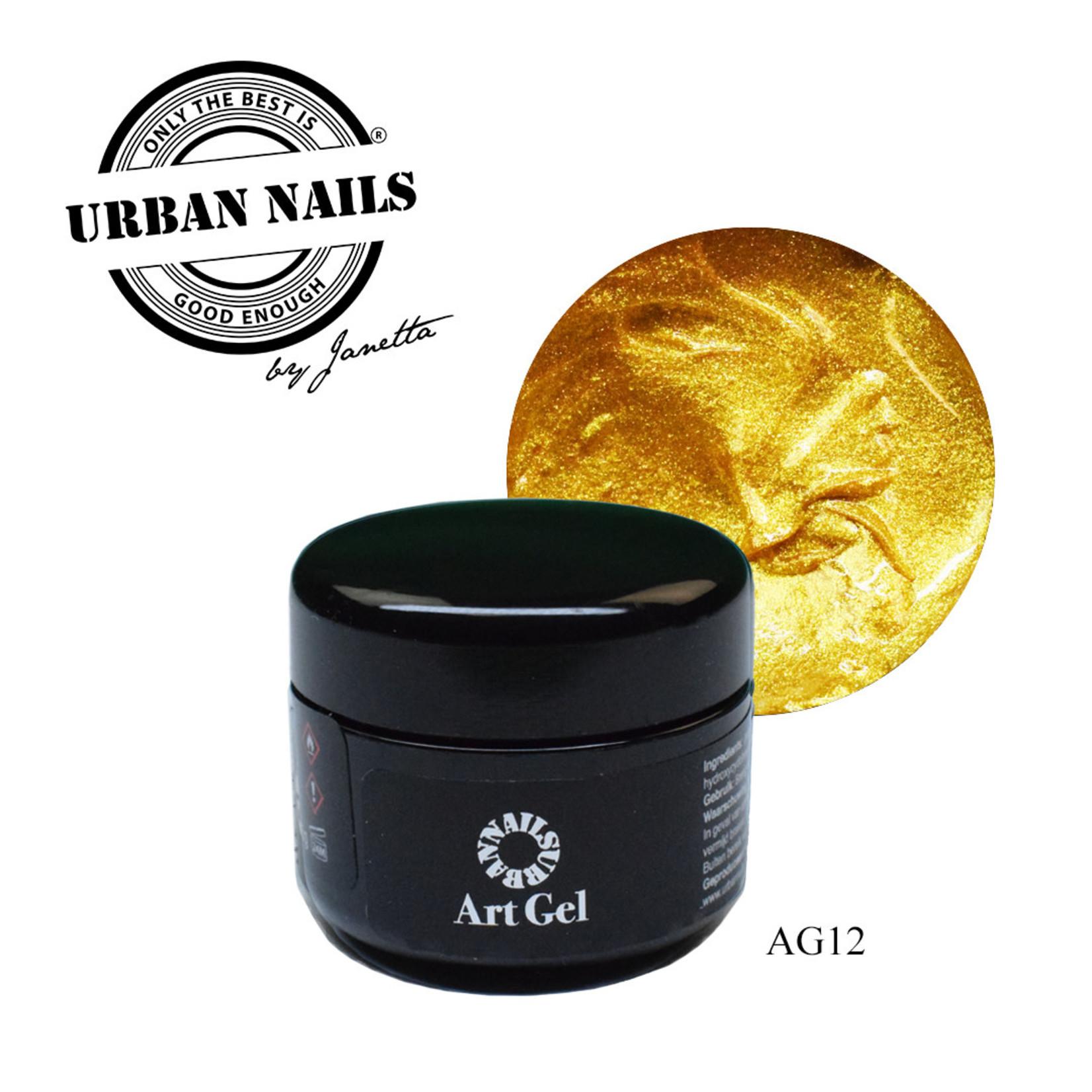 Urban Nails Art Gel 12 Goud