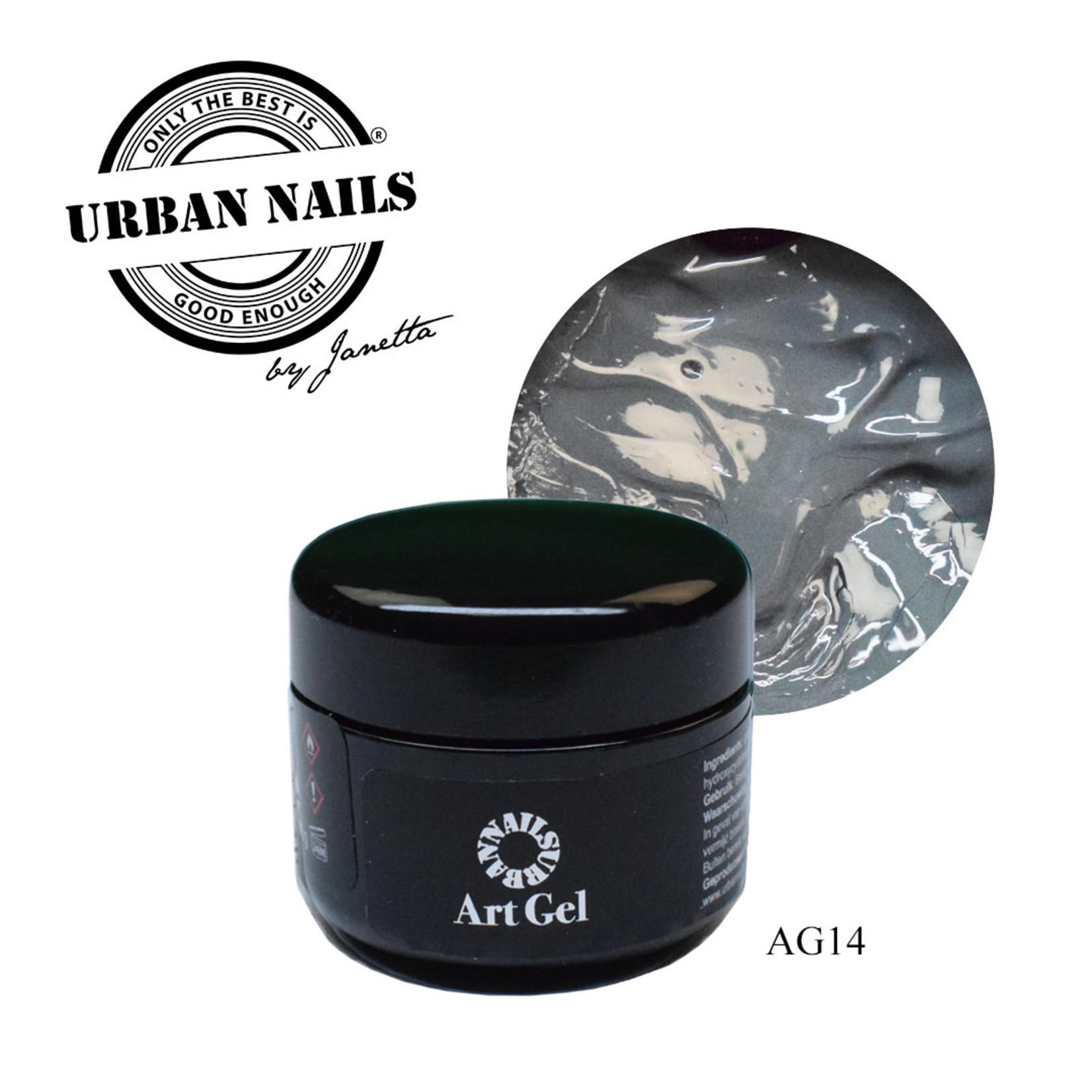 Urban Nails Art Gel 14 Grijs